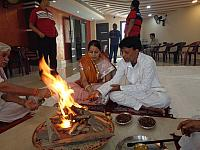 "PUJA AND HAWAN IN NEW BANQUET HALL ""POOL VIEW"""